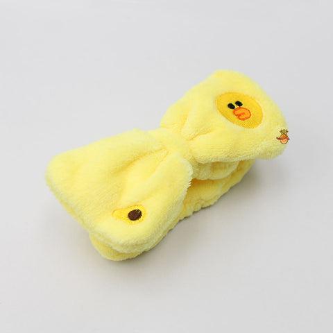 Yellow Chick Face Head Band