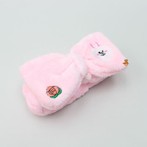 Pink Rabbit Head Band