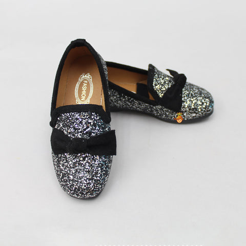 Black Glittery Shoes