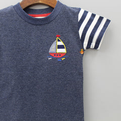 Dark Grey Sailor Boy Tee