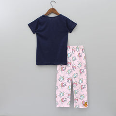 Cat And Donuts Sleepwear
