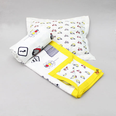 Traffic Blanket And Pillow Set For 0 to 5 Years
