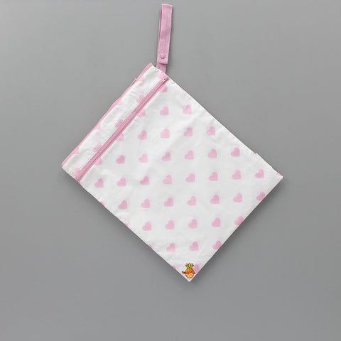 Hearts Print Wet And Dry Bag