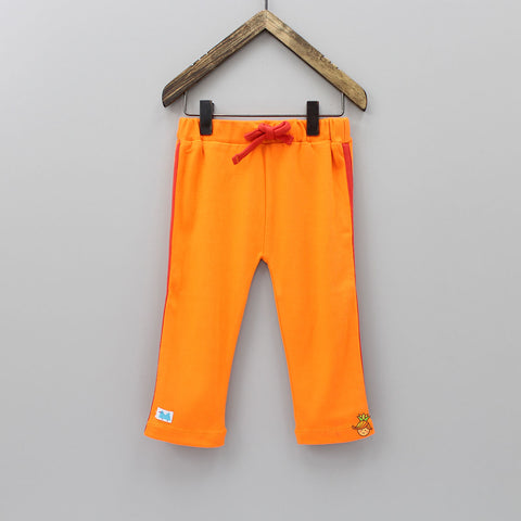 Orange Organic Cotton Joggers Pant