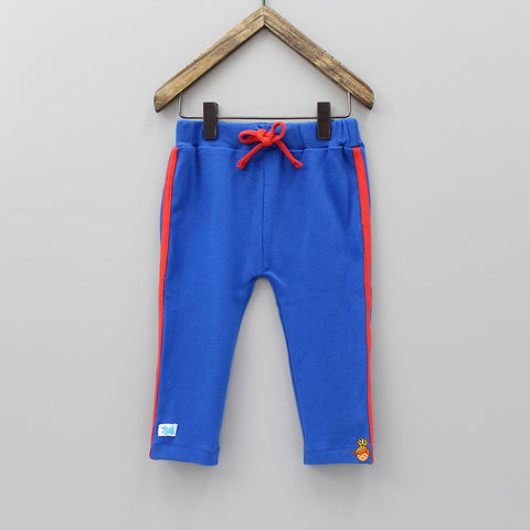 Blue Organic Cotton Joggers Pant