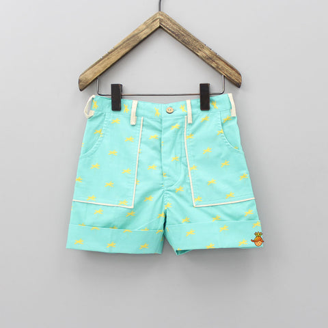Calm Palm Organic Shorts