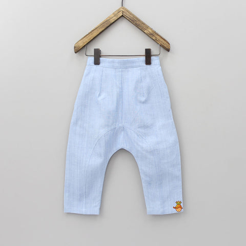 Blue Drop Crotch Organic Pant