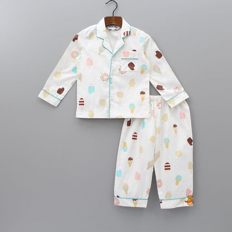 Ice cream And Candies Sleepwear