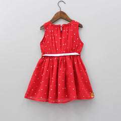 Red Starry Dress