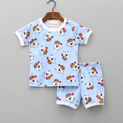 Ninja Monkey Sleepwear