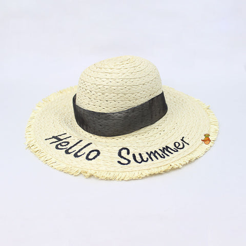 Hello Summer Off-White Hat