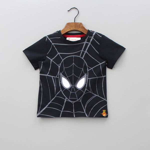 Spiderman Tee With Detachable Cape