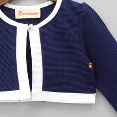 Navy Blue Shrug