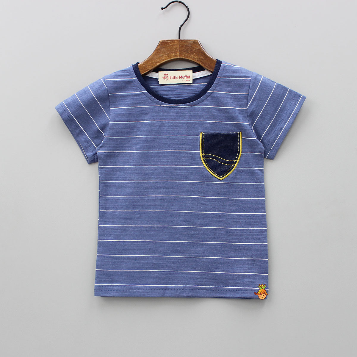 Stripy Blue Tee