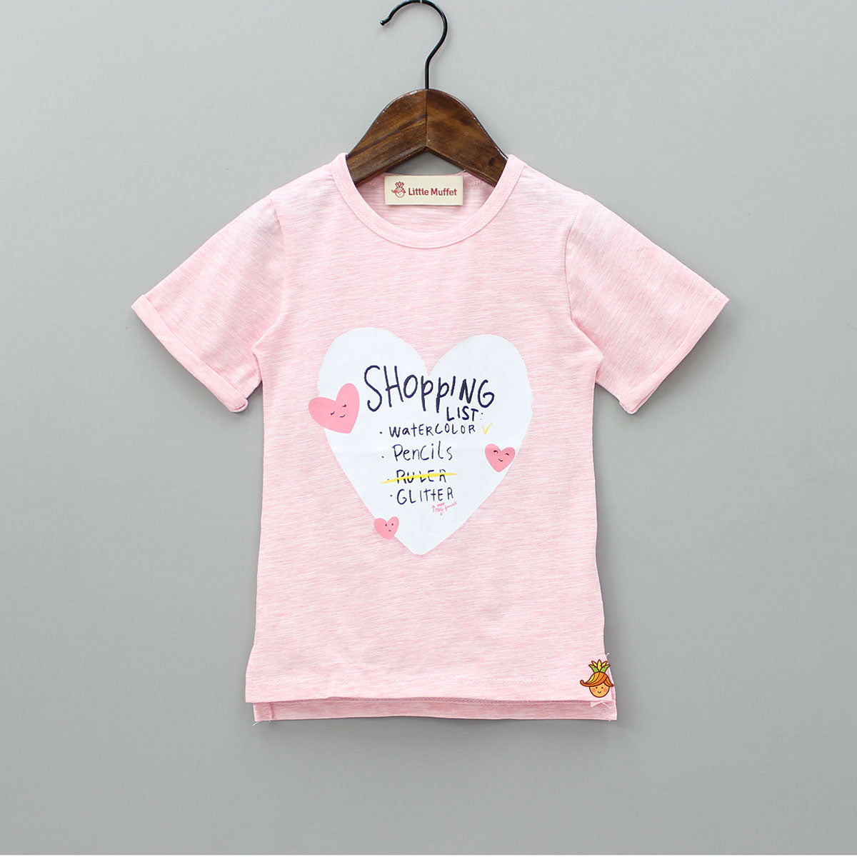 Pink Shopaholic Top