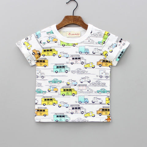 Vehicle Print Tee