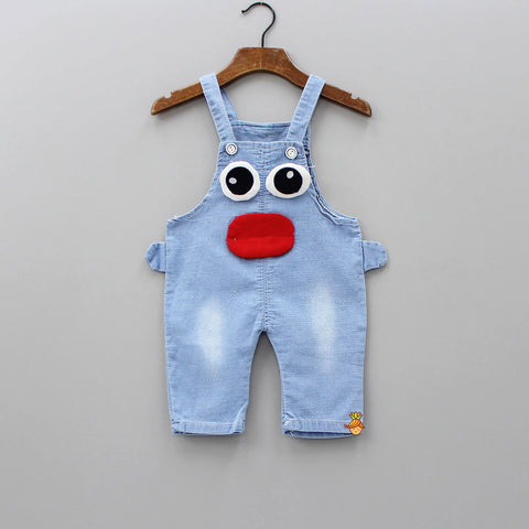 Denim Face Dungaree