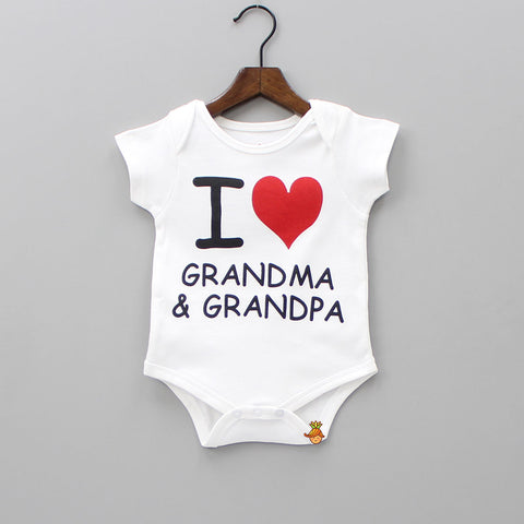 Organic Grandparents Love Bodysuit