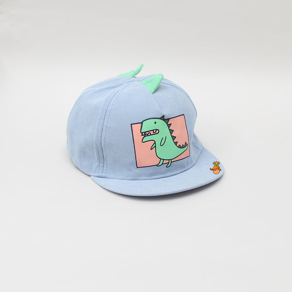 Light Blue Dinosaur Cap