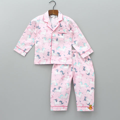 Pink Unicorn Sleepwear