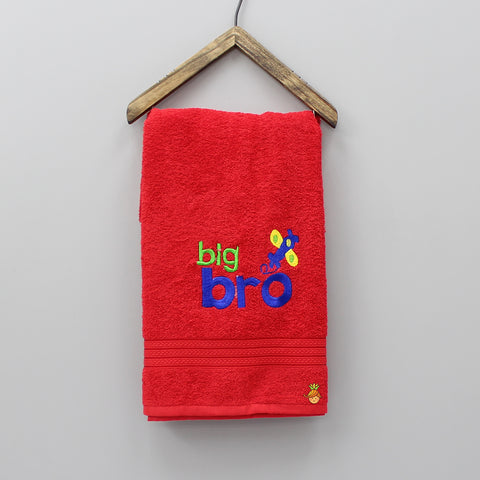 Big Bro Red Towel