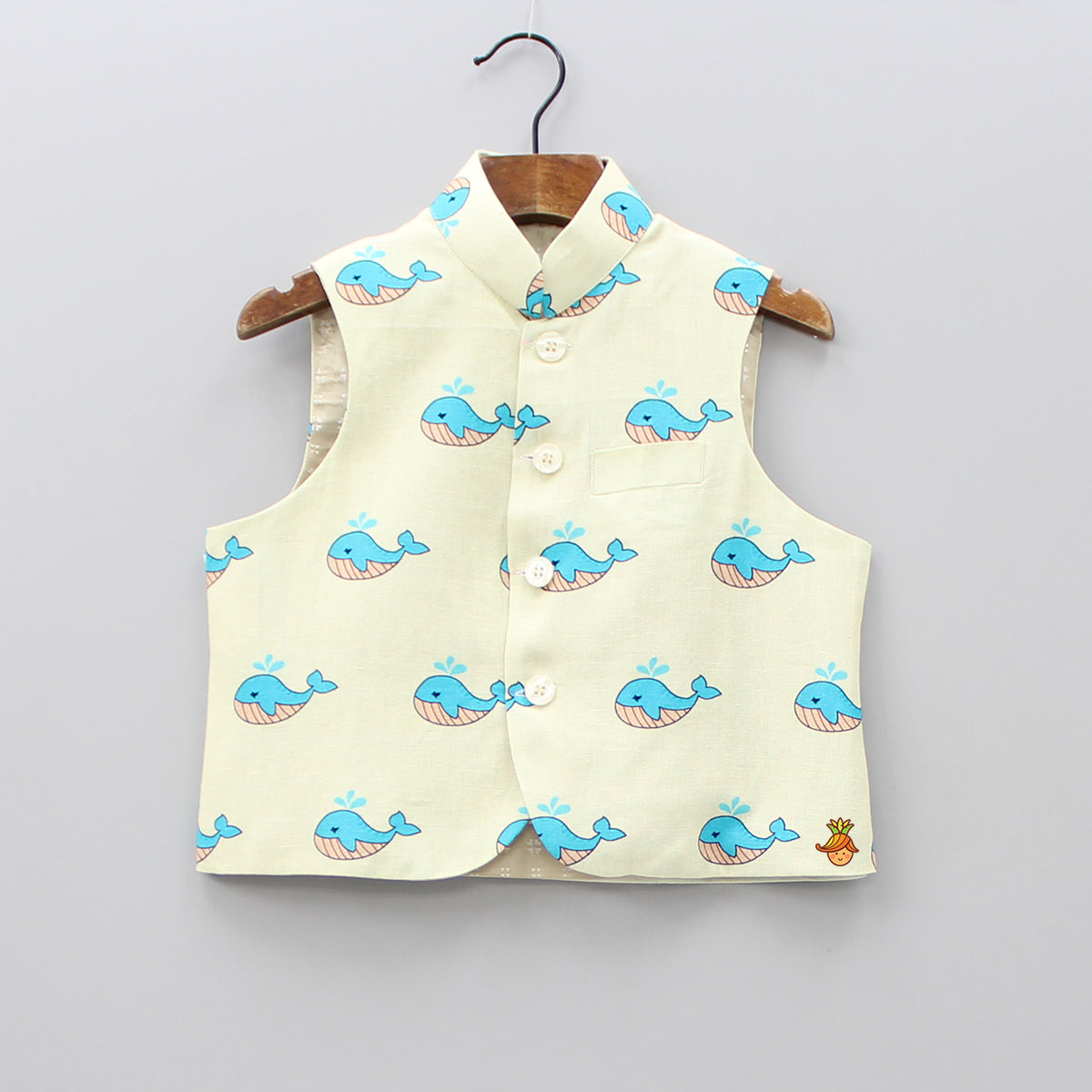 Whale Printed Jacket