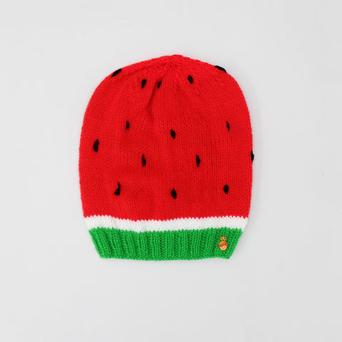 Crochet Watermelon Cap