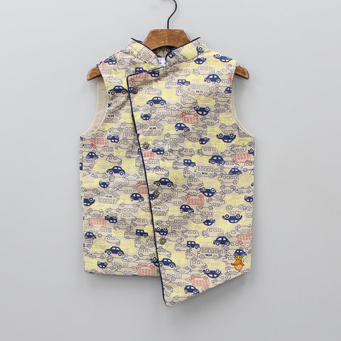 Vehicle Print Jacket