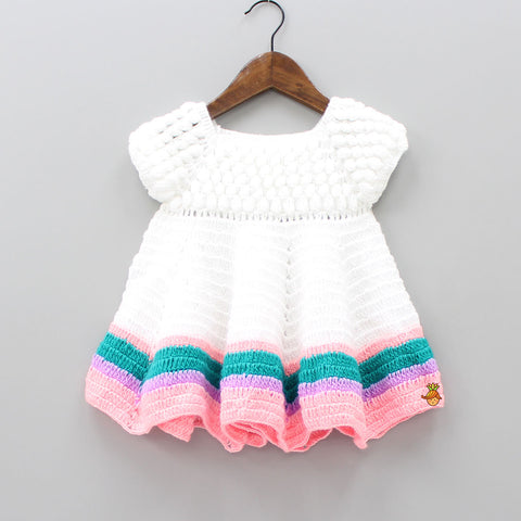 Multicolor Crochet Dress