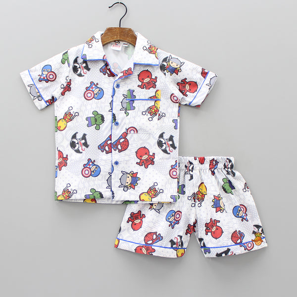 Little Avengers Sleepwear