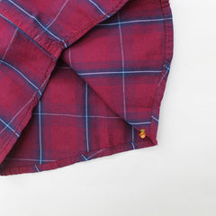 Maroon Checks Shirt