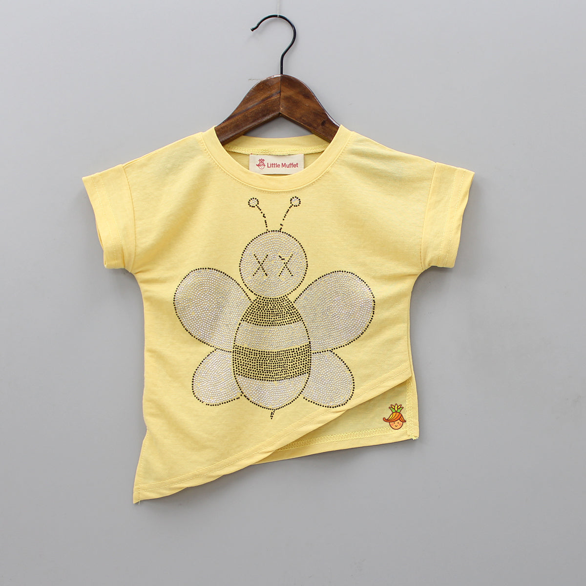 Yellow Butterfly Top