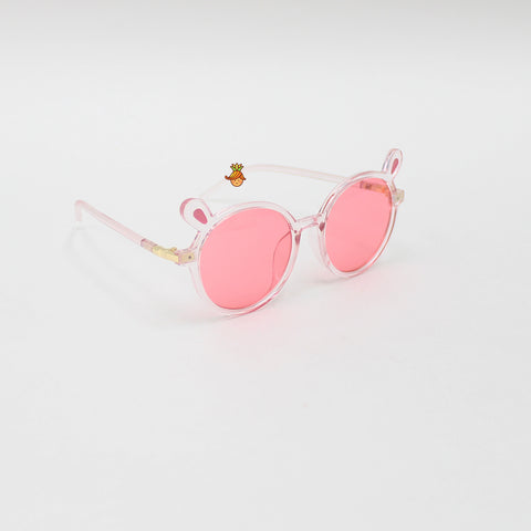 Pink Rabbit Ears Sunglasses