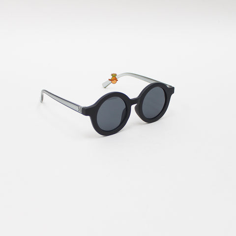 Black Round Shaped Stylish Sunglasses