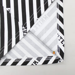 Black And White Strips Printed Tee