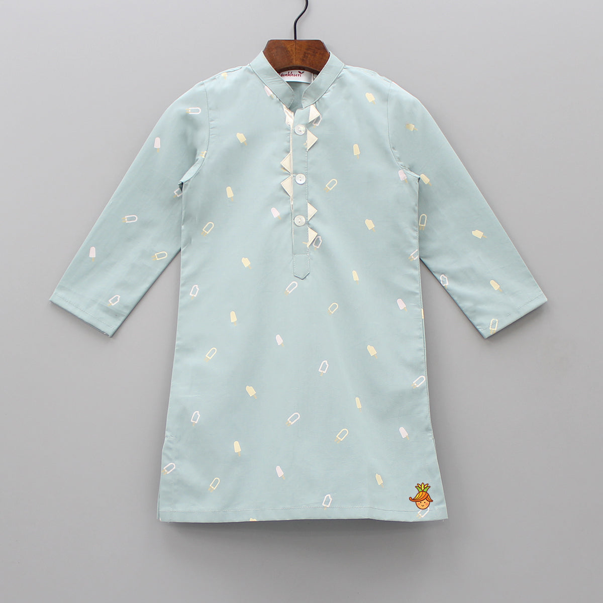 Ice Cream Print Kurta