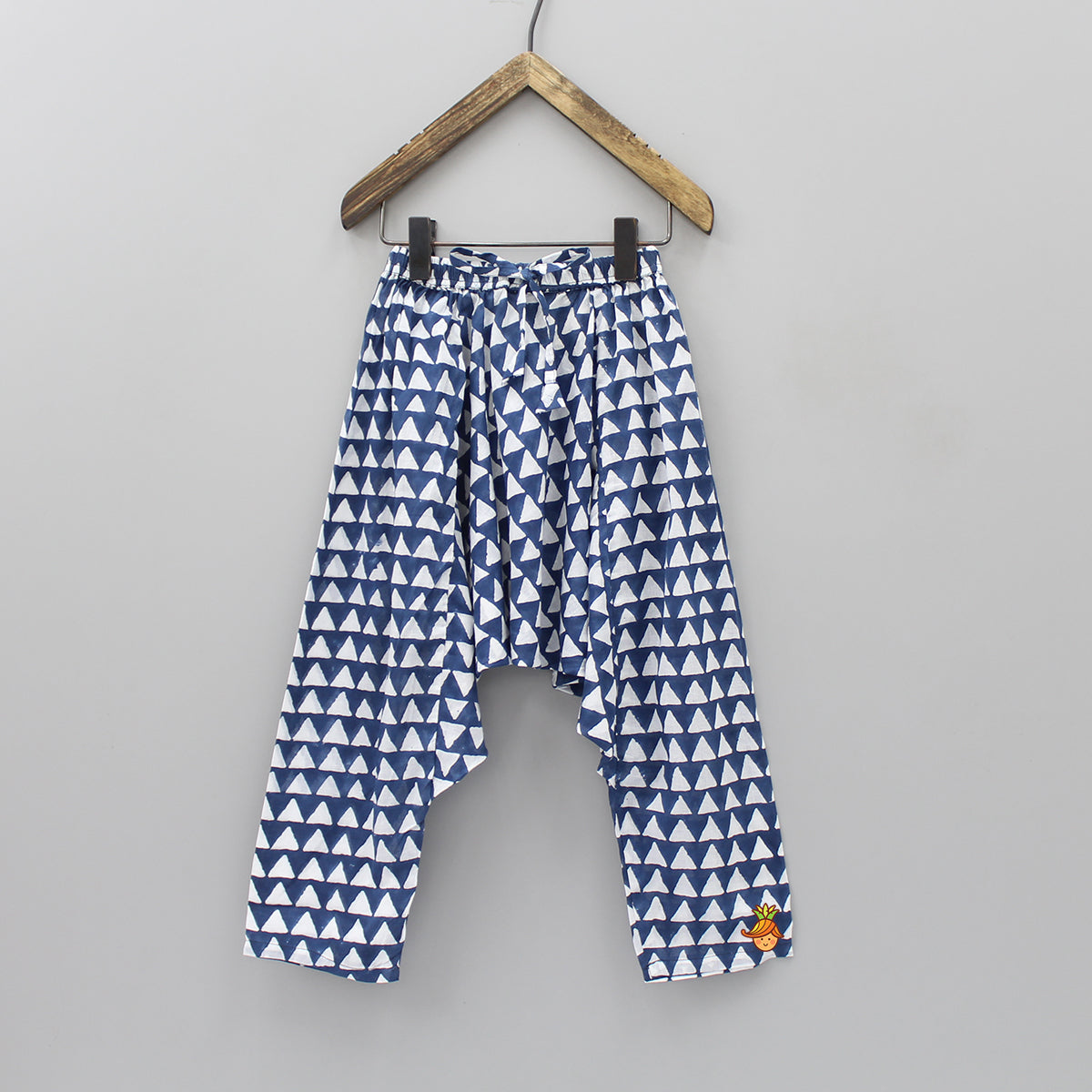 Triangle Print Harem Pants