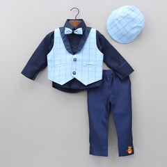 3 Piece Formal Set With Cap And Bow Tie