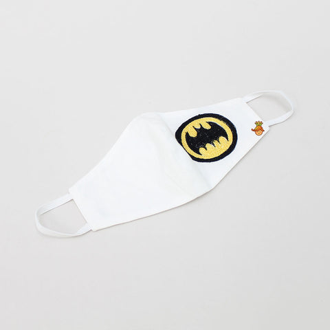 Batman Logo Embroidered Cotton Mask
