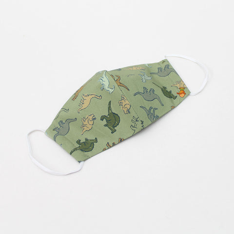 Dino Print Cotton Mask