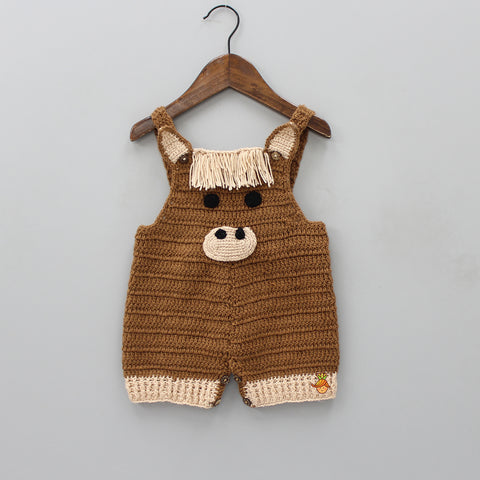 Horse Knitted Bodysuit