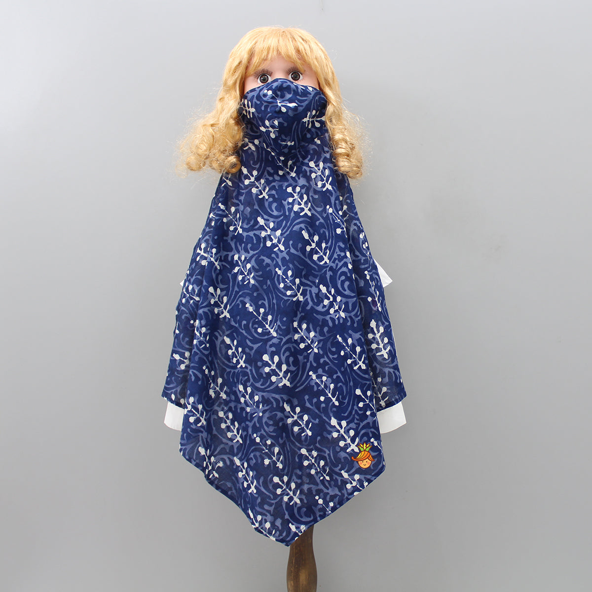 Printed Scarf Style Cotton Mask