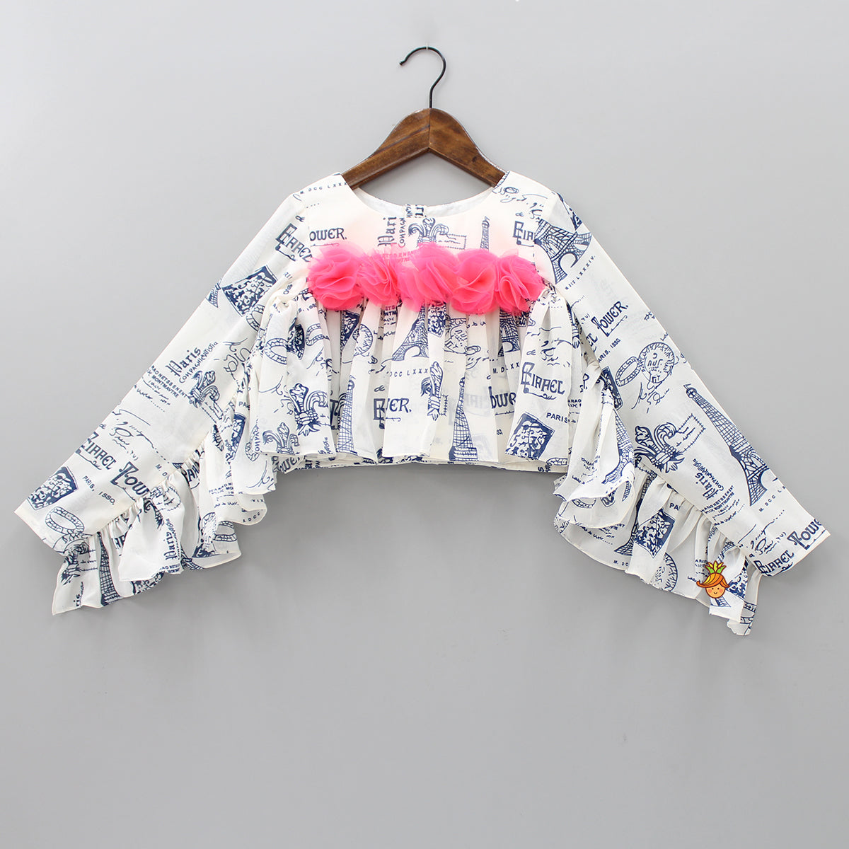 Paris Love Frilly Top
