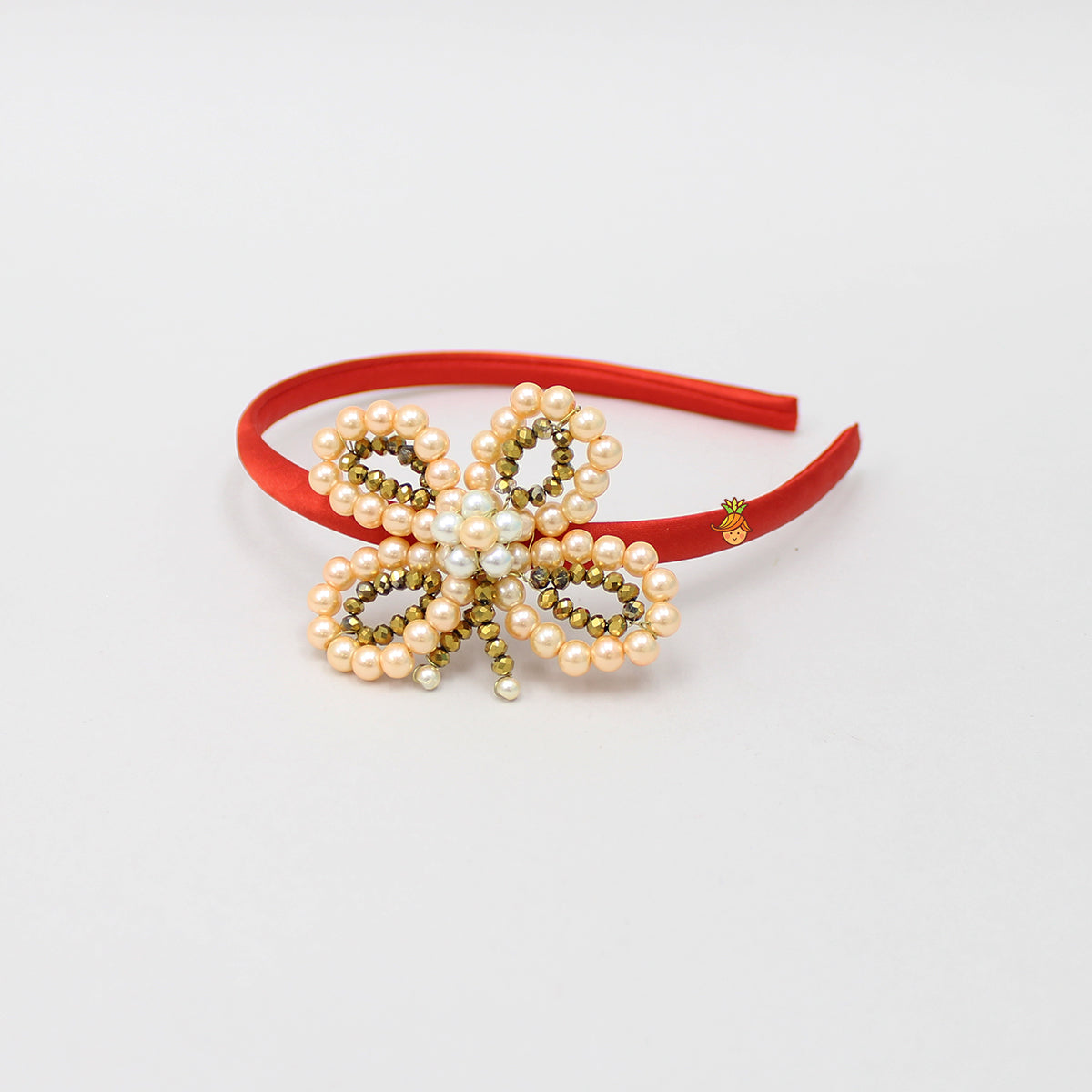 Pre Order: Pearl And Bead Butterfly Hair Band