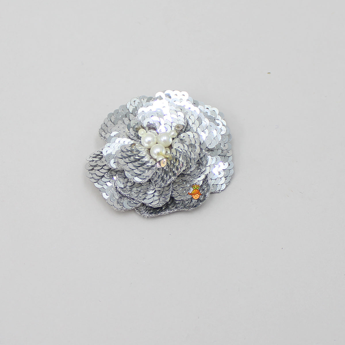 Pre Order: Sequin And Pearls Floral Hair Clip