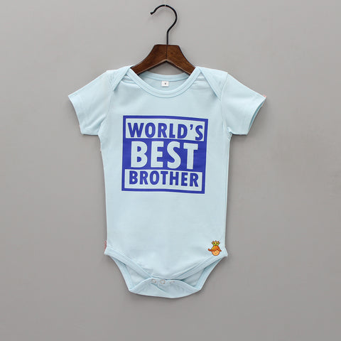 Pre Order: Worlds Best Brother Bodysuit