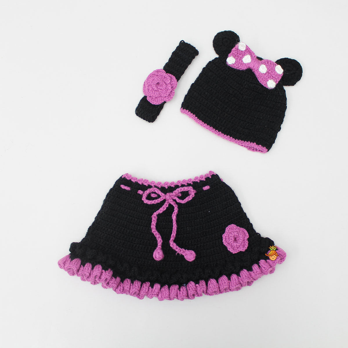 Knitted Minnie Theme Photo Prop Outfit