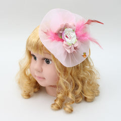 Twisted Cap Style Hair Clip - Pink