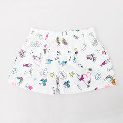 Fun Printed Shorts - Set Of 2