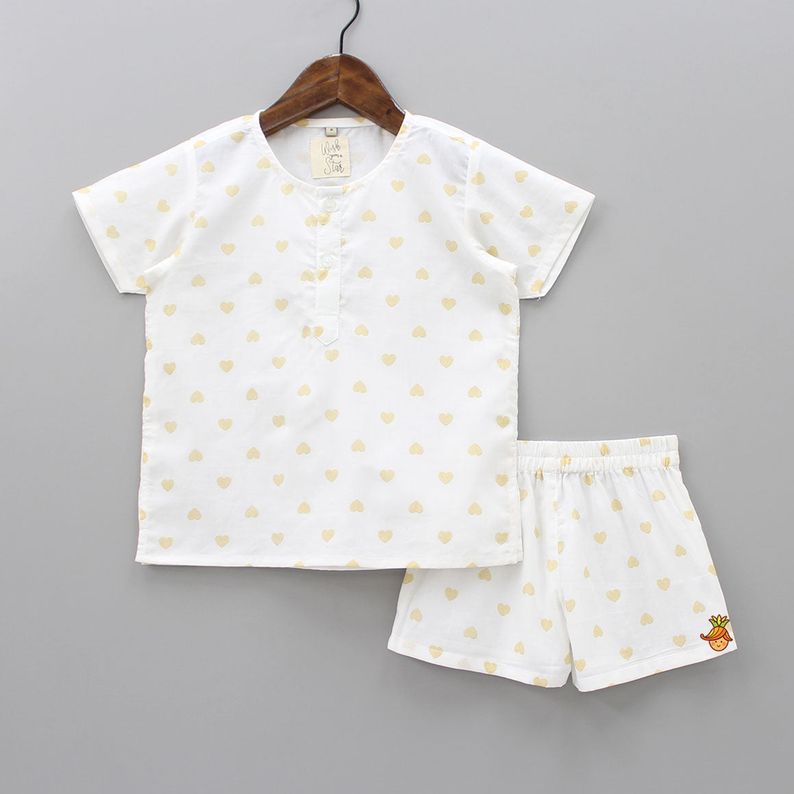 Heart Printed Sleepwear